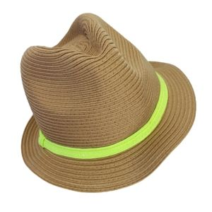 Fedora Style Hat flexible Florescent Band